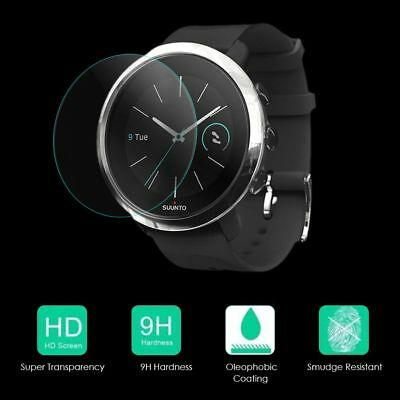 9H Anti-Scratch Screen Protector Tempered Glass Film for SUUNTO 3 Fitness Watch:
