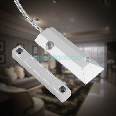 5 Pair Roller Shutter Door Window Magnetic Contact Sensor Detector Home Security