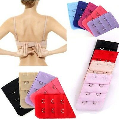 99ebf5a11e718 200 Pack - New Women Bra Extenders Strap 3 Row Extension 2 Hooks - Random