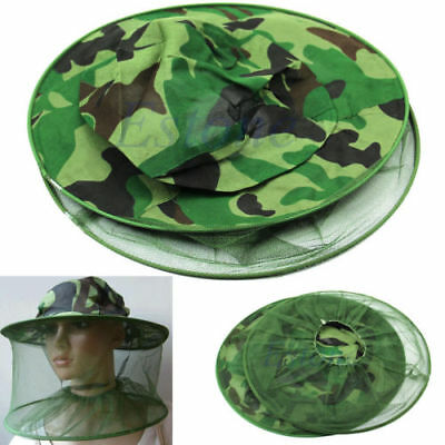 Mosquito Resistance Bug Net Mesh Head Face Protector Cap Sun Hat