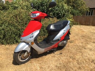 SOLD 2012 Peugeot v clic 50cc EVP2 scooter moped SOLD