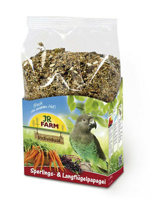 JR Farm Birds Individual Sperlings-Langflügelpapageien 1 kg