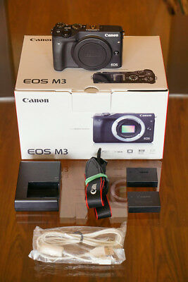 Canon EOS M3 Mirrorless 24 MP body only