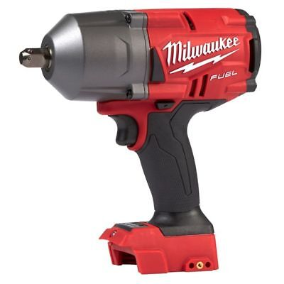 """Milwaukee M18 FUEL HIGH TORQUE IMPACT WRENCH M18FHIWP120 1/2"""" W/ Detent Pin,Bare"""