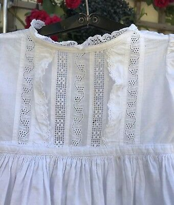 Beautiful antique victorian Christening Gown