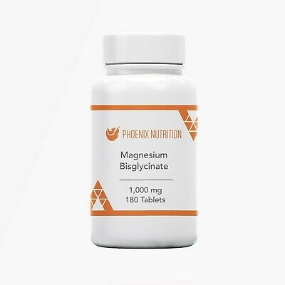 Magnesium Bisglycinate 500mg Capsules - Bioavailable Chelated