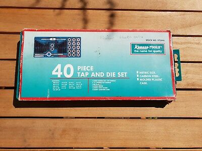 40 Piece Tap and Die Set - NEW/UNOPENED