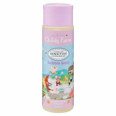 Childs Farm Bubble Bath Organic Tangerine 250ml