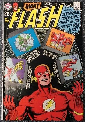 The Flash #196 (1970) Bronze Age Issue