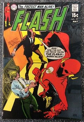 The Flash #197 (1970) Bronze Age Issue
