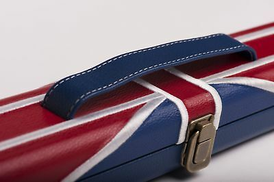 Koffer Snooker 'Union Jack',Snookerkoffer,Cuecase,