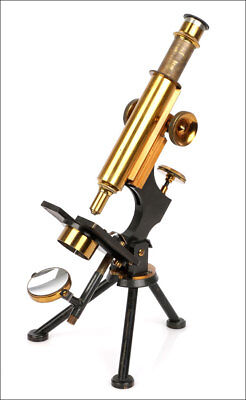 Antique Watson & Sons Microscope. England, Circa 1920