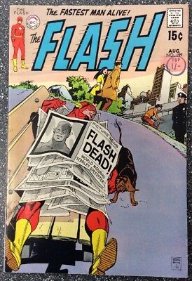 The Flash #199 (1970) Bronze Age Issue