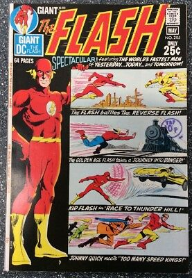 The Flash #205 (1971) Bronze Age Issue