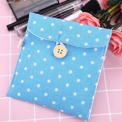 2C236E9 Lady Linen Sanitary Napkin Towel Pad Small Mini Bags Case Pouch Holder