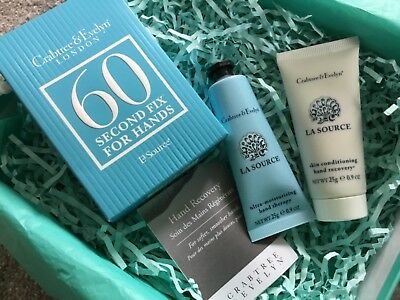 Crabtree & Evelyn La Source Mini 60 Second Fix Kit for Hands New quick delivery