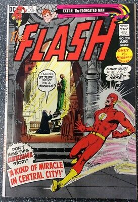 The Flash #208 (1971) Bronze Age Issue
