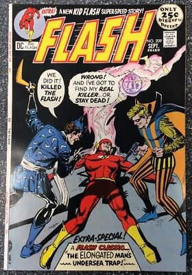 Flash #209 (1971) Bronze Age Issue
