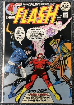 The Flash #209 (1971) Bronze Age Issue