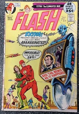 The Flash #210 (1971) Bronze Age Issue