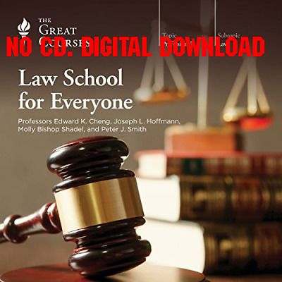 Law School for Everyone - The Great Courses, Edward K. Cheng, Joseph [AUDIO]