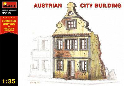 Miniart 35013 1/35 Diorama Austrian City Building Scale Plastic Model Building