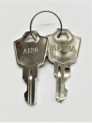 Pair of Spare Keys for ASM K or NEW type RSM K  Capricorn Controls module