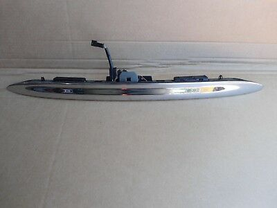 Bmw Mini One D Cooper Tailgate Handle Chrome R50 R52 R53 2001-2006 Free P&p