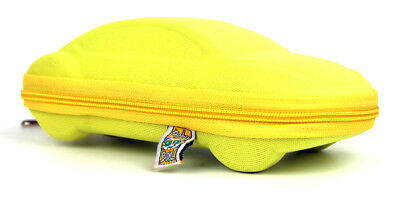 Baby Banz Sunglass Case - Yellow Car