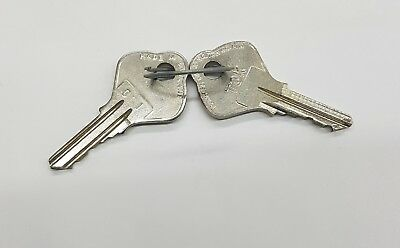 Pair of Spare Keys for OLD type RSM72 K Capricorn Controls module TOK 1