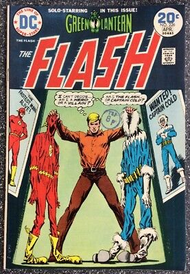 The Flash #226 (1974) Bronze Age Issue Inc Green Lantern Backup