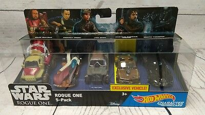 Hot Wheels Star Wars Rogue One 5-Pack Captain Cassian Andor