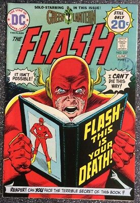 The Flash #227 (1974) Bronze Age Issue Inc Green Lantern Backup