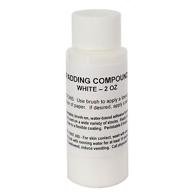 Notepad Padding Compound - White, 2oz - (Glue to make your own notepads)