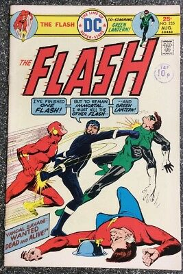 The Flash #235 (1975) Bronze Age Issue Inc Green Lantern Backup
