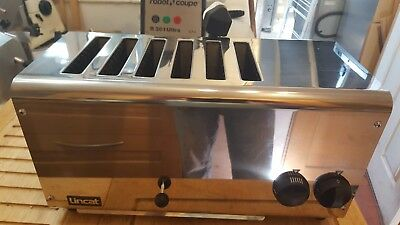 Toaster, Commercial Catering 6 Slot, Lincat Lt6X, Hardly Used
