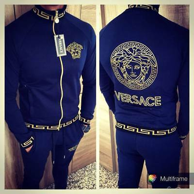 VERSACE Men's Tracksuit - blue