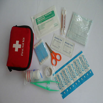Mini Emergency Medical Bag First Aid Kit Pack Travel Survival TreatmentRescue ON