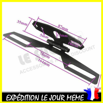 SUPPORT DE PLAQUE d' Immatriculation Universel MOTO QUAD SCOOTER TRIKE CROSS 1