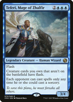 1x TEFERI, MAGE OF ZHALFIR - Rare - Iconic - MTG - NM - Magic the Gathering