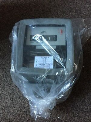 Analog Electricity Electric Meter 60amp Brand New Mains Disc kWh Single Phase