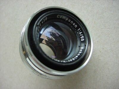 COMPONON 50mm f4 ENLARGING LENS BY SCHNEIDER-KREUZNACH GERMANY - GOOD CONDITION.