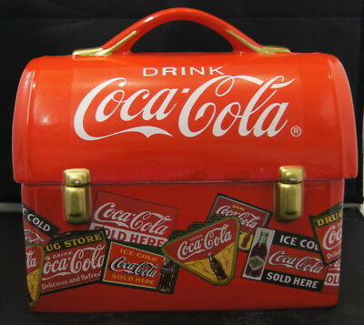 Coca Cola Cookie Jar Lunch Pail/Box by Gibson 2005