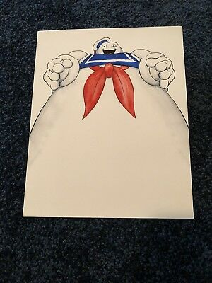 Ghostbusters Stay Puft Marshmallow Man Poster