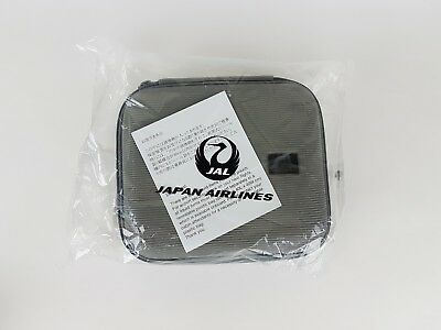JAPAN AIRLINES JAL Porsche Design First Class Amenity Kit Gray NIB