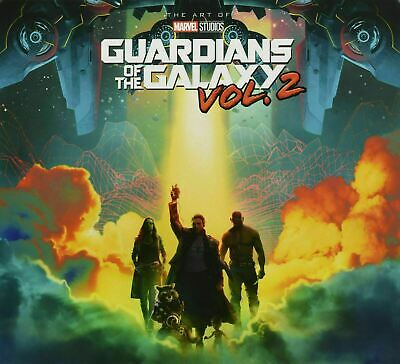 The Art of Marvel's Guardians of the Galaxy Vol 2 Slipcase [Hardcover Book] New!