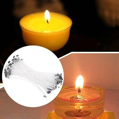50pcs 20cm Pre Waxed Candle Wicks Cotton Core With Sustainers High Quality