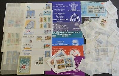 GB Isle Of Man Fine collection of MNH CTO FDCs Presentation Packs Clean Lot.