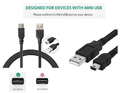 Mini USB Data Sync Charger Lead Cable for Creative Zen V | MP3 MP4 Music Player