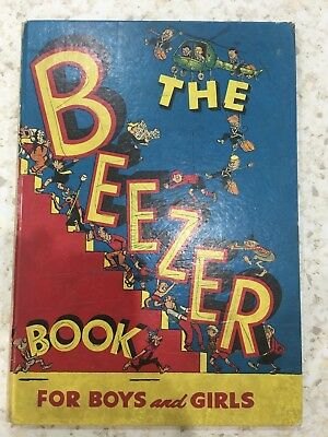 The Beezer 1958 - Vintage Annual -Very 1st Edition of the Beezer Annual